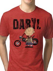 Daryl Dixon Pigpen (Peanuts) Character Tri-blend T-Shirt