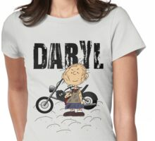 Daryl Dixon Pigpen (Peanuts) Character Womens Fitted T-Shirt