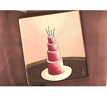 Happy Birthday To Me Photographic Print