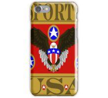 Sports USA Red iPhone Case/Skin
