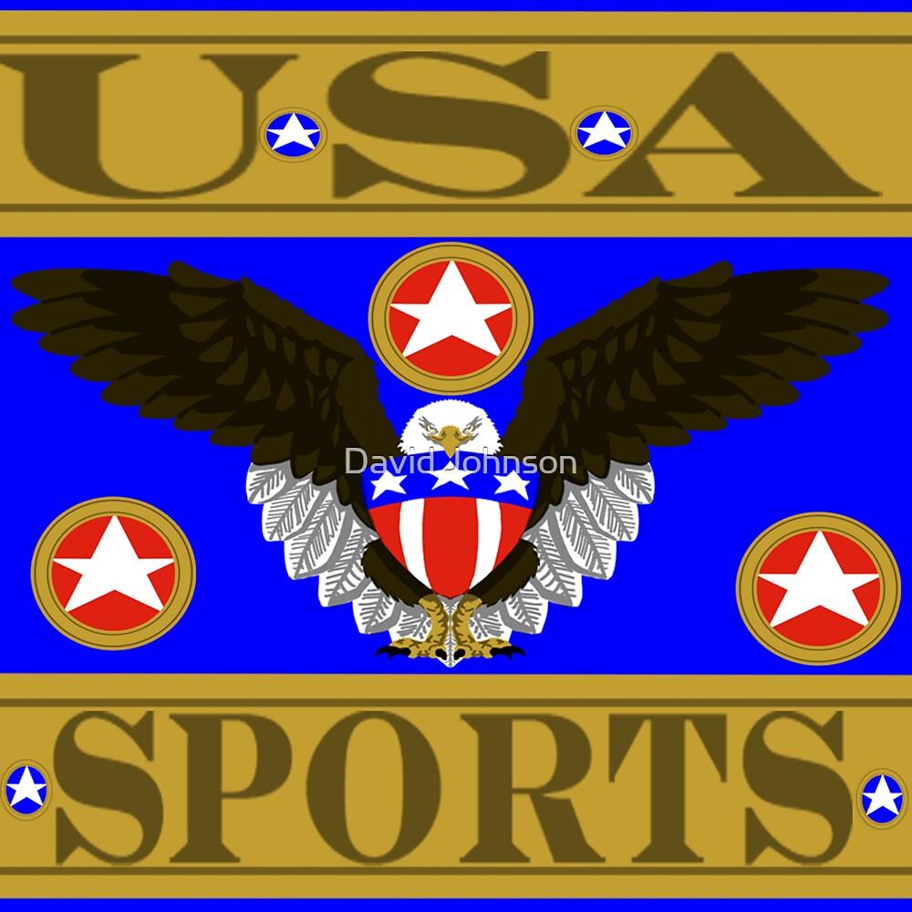 USA Sports Blue by Euvari