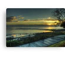 Morning lights of Coffs Harbour Canvas Print