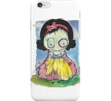 Zombie Snow White iPhone Case/Skin