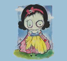Zombie Snow White Kids Tee