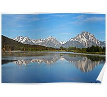 Reflections, Grand Teton National Park Poster