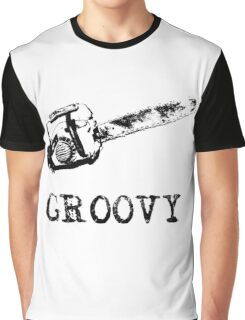 Ash vs Evil Dead - Groovy Graphic T-Shirt