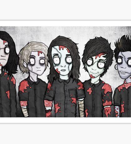 Sworn In Dead Boys Sticker
