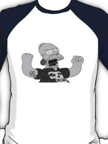 metal homer for black T T-Shirt