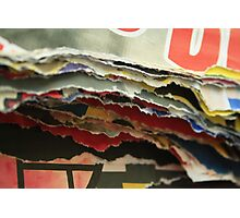 Layer by layer Photographic Print