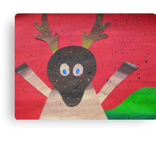Deer in Good Cheer- Animals for Children- Rhymes Canvas Print