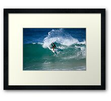 Cut Back #2 Framed Print