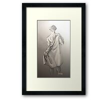 Disrobe (another little extra) - original format Framed Print