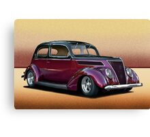 1937 Ford Tudor Sedan Canvas Print