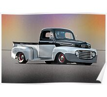1949 Ford F1 Pick-Up Truck Poster