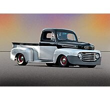 1949 Ford F1 Pick-Up Truck Photographic Print