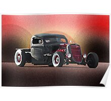 Rodent Ride - Rat Rod Poster