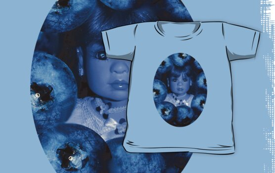☀ ツ4 THE LUV OF BLUEBERRIES CHILDRENS (KIDS) TEE SHIRT ☀ ツ by ╰⊰✿ℒᵒᶹᵉ Bonita✿⊱╮ Lalonde✿⊱╮
