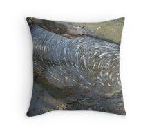 Foam Striations Throw Pillow