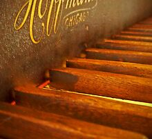 Grandfather's Hoffmann Upright by Terri Chandler