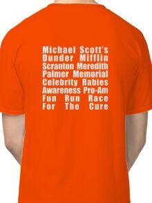 Dunder Mifflin Fun Run Classic T-Shirt