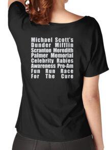 Dunder Mifflin Fun Run Women's Relaxed Fit T-Shirt