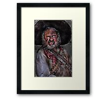 The Bandito Framed Print