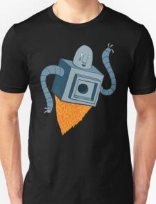 sad robot sails into the void T-Shirt