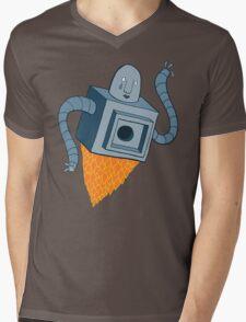 sad robot sails into the void Mens V-Neck T-Shirt