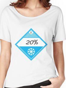 20% Cooler Placard Women's Relaxed Fit T-Shirt