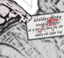 The Wedding Planner Sticker