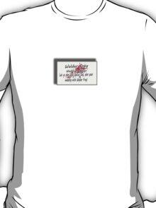 The Wedding Planner Card T-Shirt