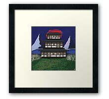Temple Zen Framed Print