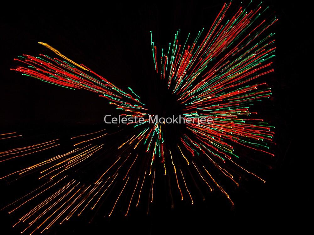 Electric butterfly by Celeste Mookherjee