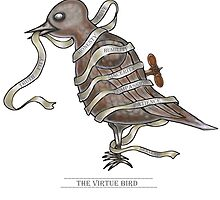 The Virtue Bird  by david michael  schmidt
