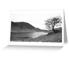 Crummock Water, Lake District National Park Greeting Card