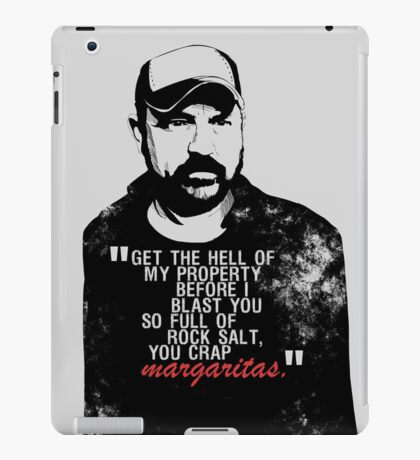 You crap MARGARITAS! iPad Case/Skin