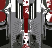 Agressive Design Sticker