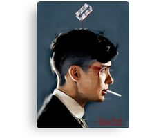 Peaky Blinders - clean background Canvas Print