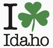 I Love (Shamrock) Idaho by saintpaddiesday