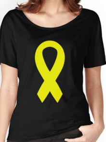 Support the Troops Ribbon Women's Relaxed Fit T-Shirt