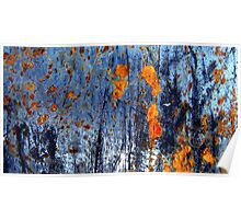 Fireflies by the Lake - Landscape Poster