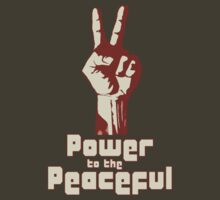 Power to the Peaceful by blackiguana