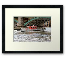 Fire rescue Framed Print