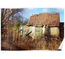Old House, Maribo, Denmark, HDR Poster