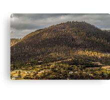 Hobart from the Derwent River, Tasmania Canvas Print