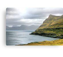 Faroe Island, HDR, Landscape Canvas Print