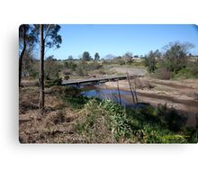 Melville Ford Bridge, Maitland NSW Australia Canvas Print