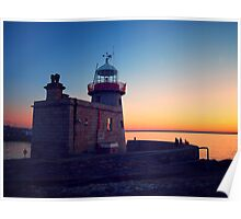 Howth Lighthouse Poster