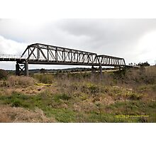 Luskintyre Bridge -Hunter River, NSW Australia Photographic Print