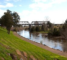 Dunolly Ford Bridge, Singleton, NSW Australia by SNPenfold